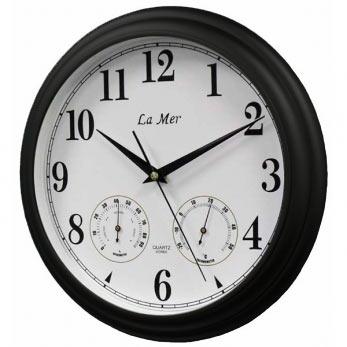 Настенные часы la mer gd-115 black