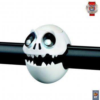 320240 фонарик skull light с брелком-фонариком