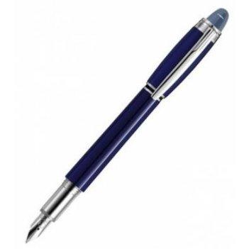 Перьевая ручка starwalker resin cool blue montblanc. арт. 9976