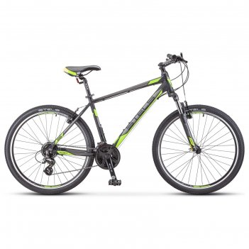 Велосипед 26 stels navigator-630 v 26 k010, цвет чёрный/желтый, размер 20