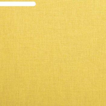Простыня на резинке «этель», 180х200х25+-2см, цвет жёлтый