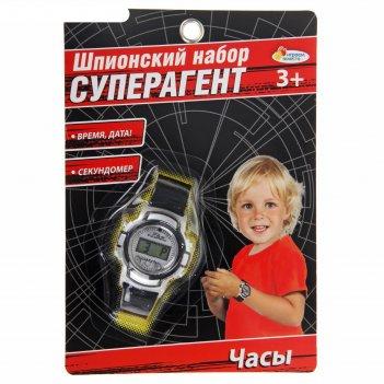 Шпионский набор суперагент часы на батар b866126-r