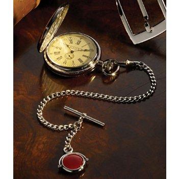 «часы охотника» карманные, на цепочке albert с брелоком