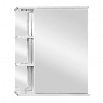 Зеркало-шкаф ника 600 фацет правое
