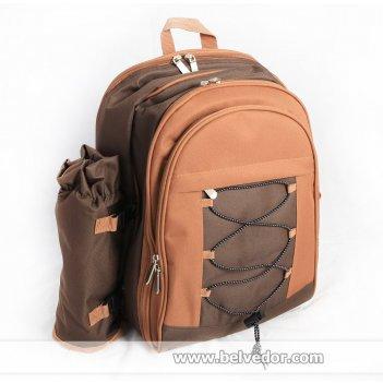 Рюкзак для пикника green glade 30 предметов с пледом