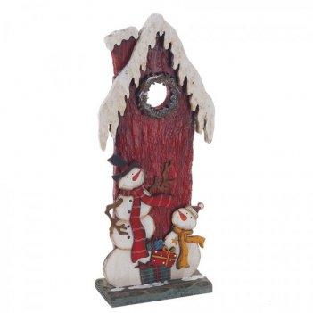 Набор для вышивания крестиком мальчик с зверушками