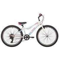 Велосипед 24 pride lanny 7, 2018, цвет белый/бирюзовый/малиновый