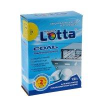 Соль для посудомоечных машин lotta таблетированная, 1 кг