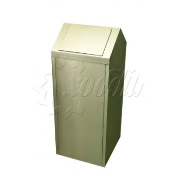 Урна с качающейся крышкой па007 объём: 90 литров