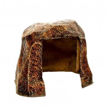Декоративная крышка для розетки камень