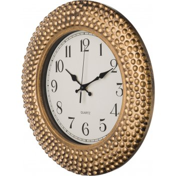Часы настенные кварцевые italian style диаметр=38 см. цвет: античное золот