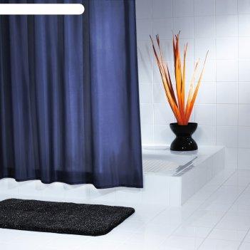 Штора для ванных комнат madison, цвет синий/голубой, 180x200 см