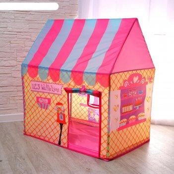 Детская игровая палатка кондитерская 100х70х110 см