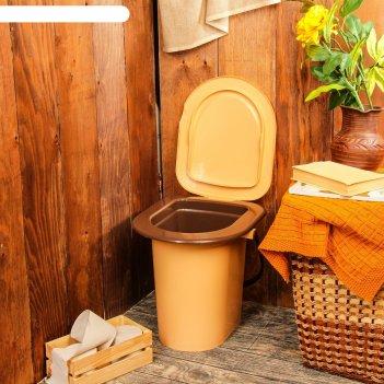 Ведро-туалет 17 л со съемным горшком