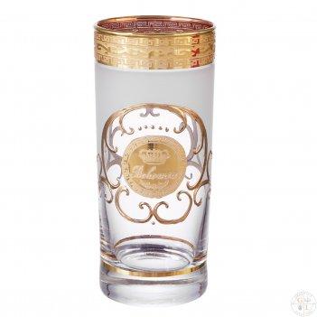 Набор стаканов для воды королевский bohemia версаче 300 мл(6 шт)