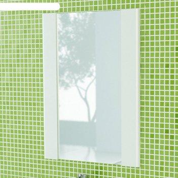 Зеркало для ванной флоренция-60, 70 х 60 х 2,2 см, белое