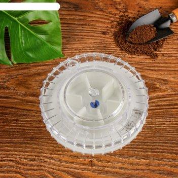 Дозатор для посадки семян, d = 12 см, пластик