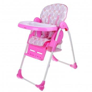 Стульчик для кормления bh-435, цвет розовый