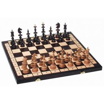 """Шахматы """"старая польша"""" (польша, дерево, 58х29х7см), madon"""