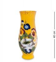 Vz-560 ваза стеклянная жостово h-400 (амфора)