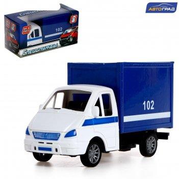 Автоград грузовик инерционный полиция, sl-04547
