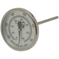 Термометр для гриля-коптильни axxlhd1, механический, круглый, шкала +50/+4