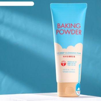 Etude house baking powder bb deep cleansing foam пенка для умывания и глуб