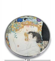 Pr-m01kl зеркальце три возраста женщины густав климт (museum.parastone)