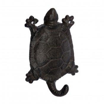 Крючок «черепаха», 9,5 x 14 x 3 см, чугун