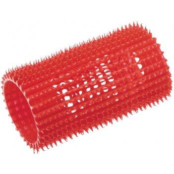 Бигуди пластиковые красные, размер 39 мм, 4 штуки в упаковке
