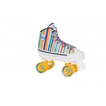 Роликовые коньки hudora roller skates candy stripes, 39  (13053)