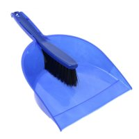 Набор для уборки, 2 предмета: щетка-сметка мягкая, совок, цвета микс