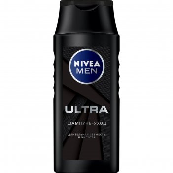 Шампунь nivea for men ultra, 250 мл