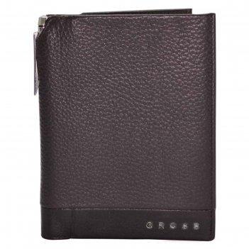 Обложка для документов, cross nueva fv с ручкой, цвет коричневый
