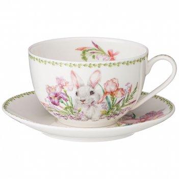 Чайная пара lefard iris 300 мл (кор=24наб.)