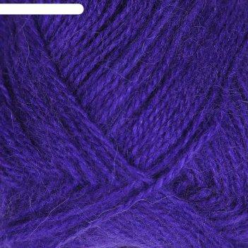 Пряжа angora star 20% шерсть 80% акрил 500м/100гр (556 фиолетовый)