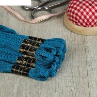 Мулине 10м, (№3306), цвет голубой