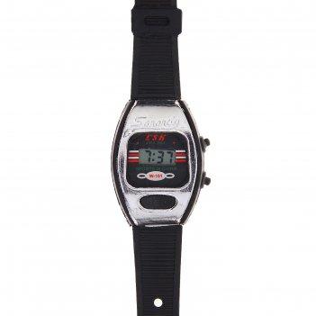 Часы наручные феликс, электронные, с силиконовым ремешком, микс