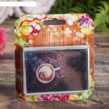 Натуральное мыло ароматный кофе, добропаровъ, 100 г