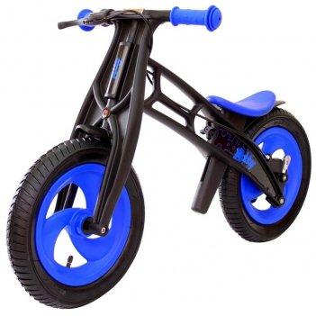 Велобалансир+беговел hobby-bike rt fly а черная оса plastic blue/black а-ш