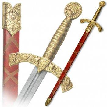 de-4163-l меч тамплиеров, в ножнах, 12 в.