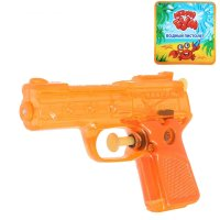 Пистолет водный, цвета микс (в фасовке 16 штук)