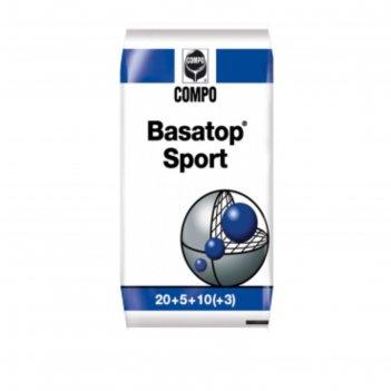 Комплексное гранулированное удобрение compo  для газонов basatop sport, 25