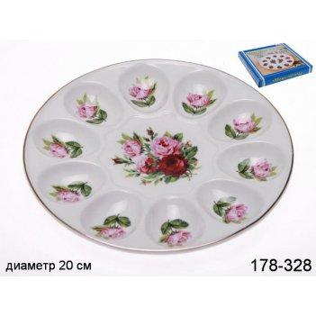 Тарелка для яиц диаметр=20 см.высота=2,5 см.