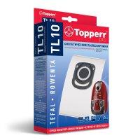 Пылесборник синтетический topperr tl10 для пылесоса tefal, rowenta: 4 пыле
