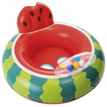 Круг-ходунки для плавания «арбуз», 74 х 69 см, от 1-2 лет, до 15 кг, 56592