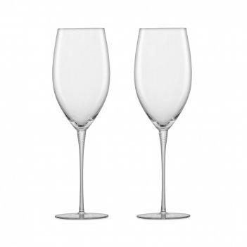 Набор бокалов для красного вина, ручная работа, объем 429 мл, 2 шт, серия