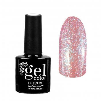 Гель-лак для ногтей горный хрусталь, трёхфазный led/uv, 10мл, цвет 003 роз