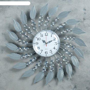 Часы настенные, серия: ажур, милена, d = 39 см, микс