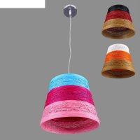 Люстра-подвес пряжа 1 лампа